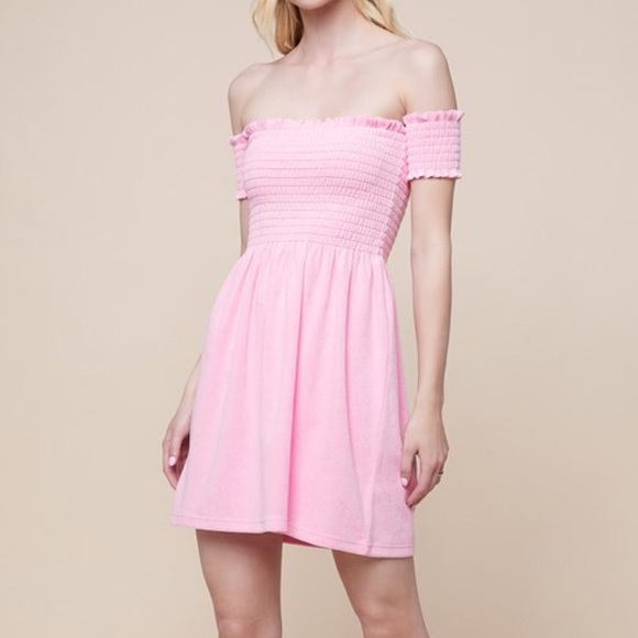 da78fcaf5ac14 Juicy Couture Dresses | Smocked Terry Dress Nwt S | Poshmark